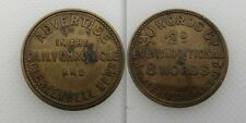 Collectable Daily Chronicle & Clerkenwell Advertisements Token - 20 Words 6d