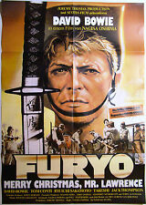 FURYO - Merry Christmas Mr. Lawrence - DAVID BOWIE - Filmplakat DIN A1