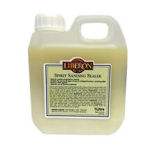 Liberon Spirit Sanding Sealer 1 Litre - Ideal for sealing wood before waxing