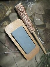 TURKEY CALL FRICTION SLATE CALL ** Long Slate Corncob **TYLERSBURG YELPERS