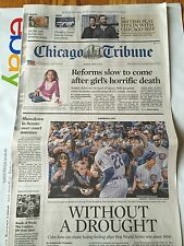 Chicago Tribune Newspaper 4/2/2017 Chicago Cubs Opening day! Full Sunday Paper!