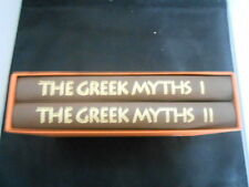ROBERT GRAVES  THE GREEK MYTHS VOLS 1 AND 2 FOLIO  IN SLIPCASE