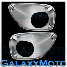 11-13 JEEP GRAND CHEROKEE Chrome Triple Chrome plated Fog Lamp Light Trim Cover