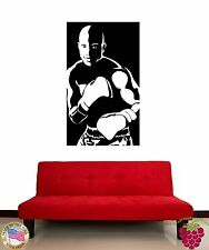 Wall Vinyl  Sticker Boxer In Boxing Gloves Sport Martial Arts z1196