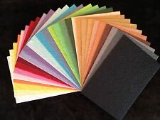 30 Handmade Mulberry Paper extra thick colorful Tear Bears Paper Piecing cards