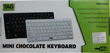 TAG Chocolate USB Mini Keyboard for Laptop, PC, Tablets & compatible SmartPhones