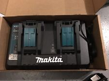 New Makita DC18RD 18-Volt Charger Lithium-Ion Dual Port Rapid OptimumW/ USB PORT