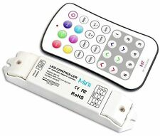 MINI M7 RF WIRELESS LED CONTROLLER RGB STRIP LIGHT HALO 50M REMOTE CONTROL 9A