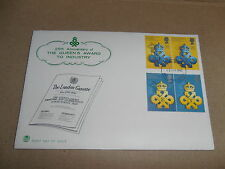 First Day Covers - 25th Anniversary of the Queen's Award to Industry 1990