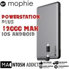 Mophie Powerstation Plus XL 12000mAh Portable Battery Switch-Tip Power Bank