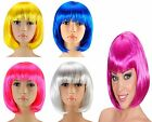 WOMEN'S SEXY SHORT BOB STYLE CUT WIG COSPLAY FESTIVAL FANCY DRESS HAIR