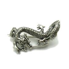 Silber Brosche Drachen 925 A000096  EMPRESS