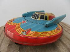 Rare Space Ship Terre Mars Flying Saucer  W-902 by SFA Made in France 1950's
