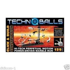 Techno Balls / Spacerail 129-Hi-Tech-Perpetual Motion Marble Run Roller Coaster