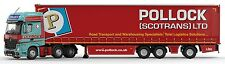 CORGI CC15801 1/50 POLLOCK (SCOTRANS) LTD MERCEDES-BENZ MP4 SUPER TRAILER