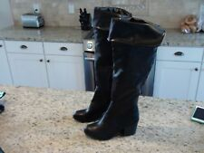 NEW Mossimo ANYA Women's Knee High or Over Knee Black Boots Size 9