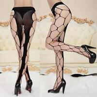 Sexy Women Pantyhose Socks Lingerie Open Crotch Fishnet Stockings Tights