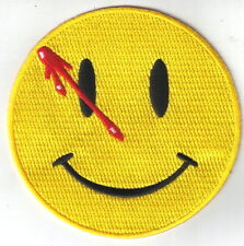 DC Comics The Watchmen The Comedian Smiley Face Embroidered Patch, NEW UNUSED