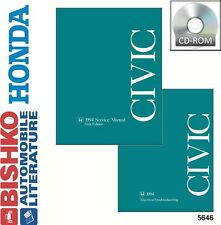 1994 Honda Civic Shop Service Repair Manual CD