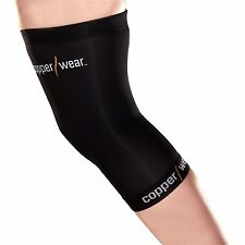 New! Copper Wear Knee Sleeve Compression Medium Fit Extra Tommie Support Brace