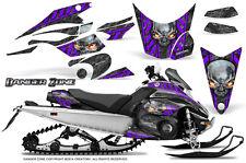 Yamaha FX Nytro 08-14 Graphics Kit CreatorX Snowmobile Sled Decals Wrap DZPR