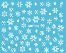 Nailart stickers autocollants ongles scrapbooking: flocons de neige étoiles
