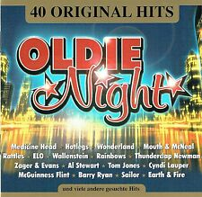 (2CD's) Oldie Night - 40 Original Hits - Wonderland, Hotlegs, Medicine Head,u.a.