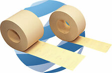 Hookit (Velcro) Abrasive Roll 71mm x 25m. Velcro backed sanding strip P80