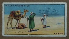 VINTAGE~WILLS~CIGARETTE~CARD~DO~YOU~KNOW~WHAT~CAUSES~A~MIRAGE~NUMBER~#~No~28
