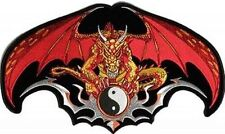 RED DRAGON BACK PATCH FUN  NEW HIGH QUALITY Club Motorcycle Biker Patch LRG-0478