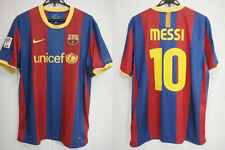 2010-2011 FC Barcelona Barca Home Jersey Shirt Camiseta unicef Nike Messi 10 L