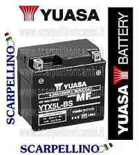 BATTERIA YUASA YTX5L-BS CON ACIDO E-TON BEAMER MATRIX 2T 50 cc 2005-06 -BATTERY