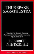 Thus Spake Zarathustra (Great Books in Philosophy)-ExLibrary