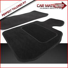 BMW Z4 (03-09) Tailored Car Floor Mats in Black Premium Velour Carpet