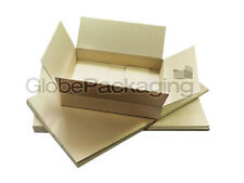 200 NEW DEEP Max Size Royal Mail Small Parcel Postal Boxes 350x250x160mm - 24HRS