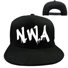 "EAKS® BASE CAP ""Motiv: N.W.A-SCHRIFTZUG"" bl. Hip Hop Nwa-Graffiti Rap Old School"