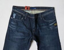 G-star Raw Attacc Dark Aged Low Straight Jeans 38 W x 34 Brand New with Tags