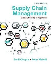 Supply Chain Management: Strategy, Planning, Operation 6th International Edition