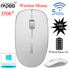 Rapoo Reliable 3500P Wireless Optical Mouse Mice W/USB Nano Receiver For  Laptop
