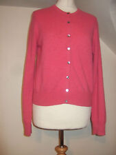 LADIES MARKS & SPENCER LIMITED COLLECTION HOT PINK 100% CARDIGAN SIZE M 12