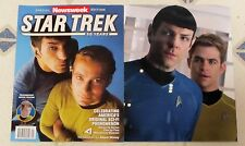 STAR TREK 50 YEARS Newsweek Special Edition 98 Pages SERIES BY SERIES The Films