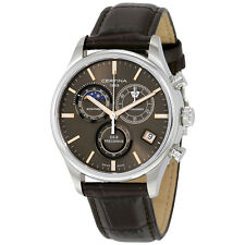 Certina DS- 8 Chrono Moon Phase Stainless Steel Mens Watch C033.450.16.081.00