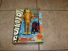 Futurama CALCULON Figure Toynami Robot SANTA Build a Bot BAF Loose W/BOX