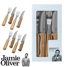 Jamie Oliver-Jumbo steak couverts set de 8 pieces