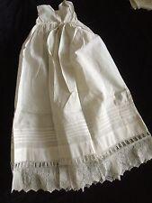 Antique Baby Lace Dolls Slip Dress Under Clothes Underwear Doll