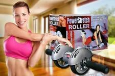 AB Power Stretch Roller Abdominal Workout For Ab Exercises Unisex With Free Mat