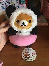 Rilakkuma Plushie - Panda De Goran - UFO Catcher Japan Import RARE KAWAII PLUSH