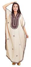 Caftan Dress Casual Summer Kaftan Abaya Moroccan Islamic Beach Djellaba Cotton