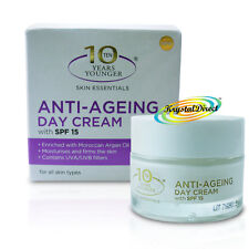Derma V10 Anti Ageing Skin Care Daily Day Facial Face Cream With SPF15 50ml