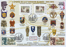 "Maxi FDC VARIETY ""70 years Liberation of Strasbourg - LECLERC / WWII"" (T2) 2014"